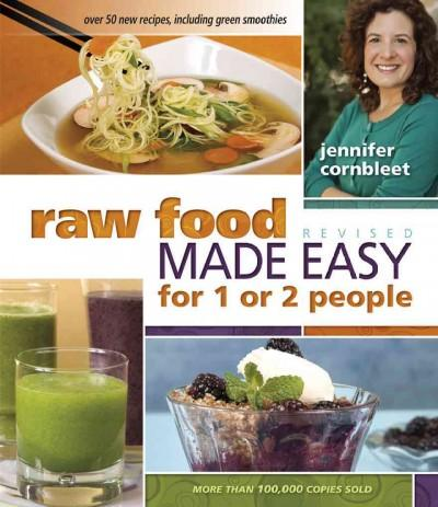 Raw Food Made Easy for 1 or 2 People (Paperback)