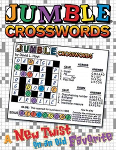 Jumble Crosswords: A New Twist on an Old Favorite (Paperback)