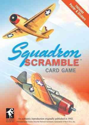 Squadron Scramble: An Authentic Reproduction Originally Published in 1942 (Cards)