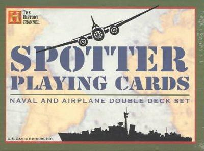 Spotter Playing Cards: Naval and Airplane Double Deck Set (Cards)