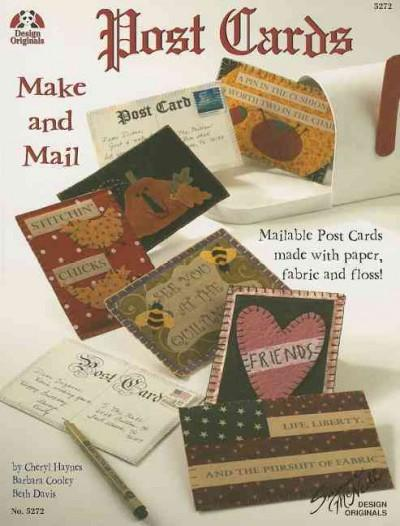 Post Cards to Make and Mail (Paperback) - Thumbnail 0