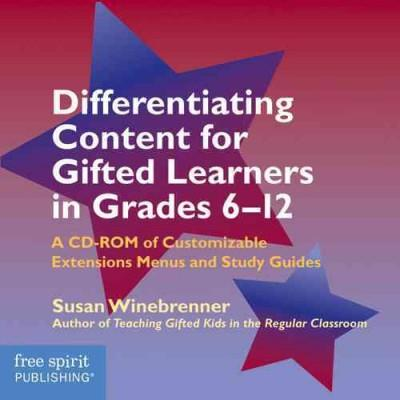 Differentiating Content for Gifted Learners in Grades 6–12 (CD-Audio)