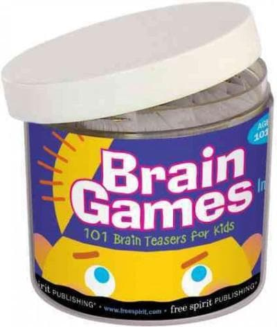 Brain Games in a Jar: 101 Brain Teasers for Kids (Cards)
