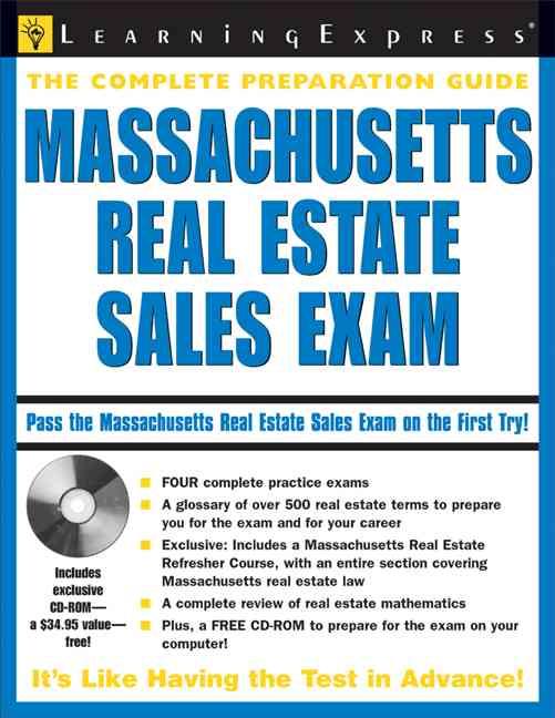 Massachusetts Real Estate Sales Exam