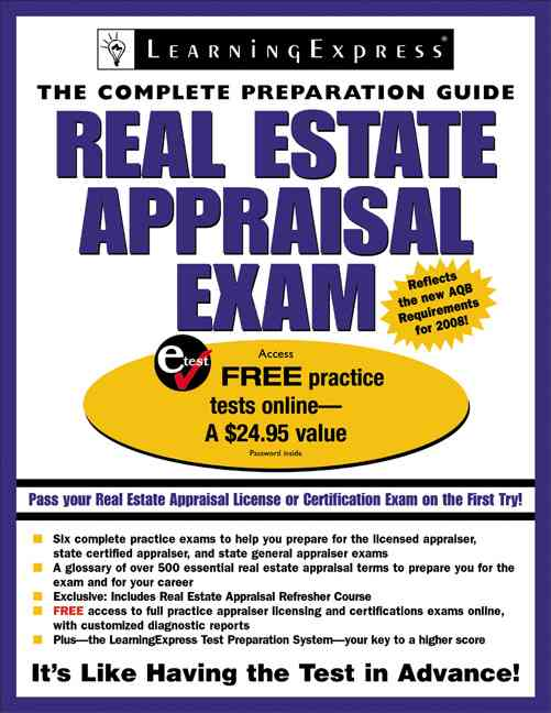 Real Estate Appraisal Exam