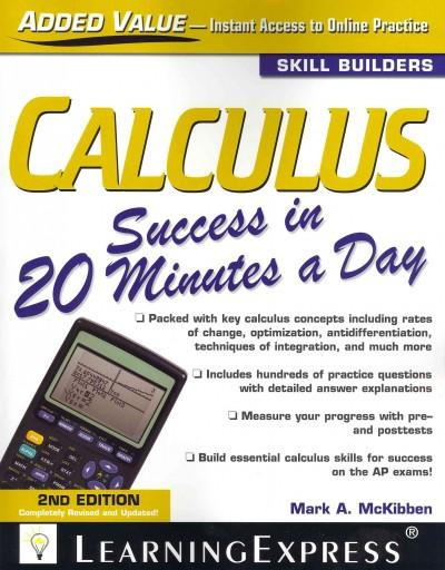 Calculus Success in 20 Minutes a Day (Paperback)
