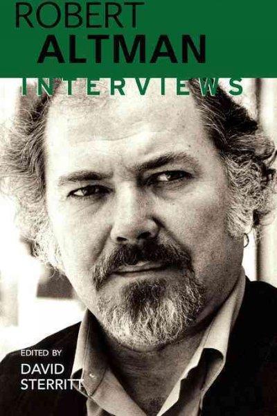 Robert Altman: Interviews (Paperback)