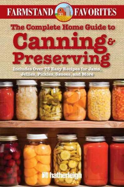 Canning & Preserving: Over 75 Farm Fresh Recipes (Paperback) - Thumbnail 0