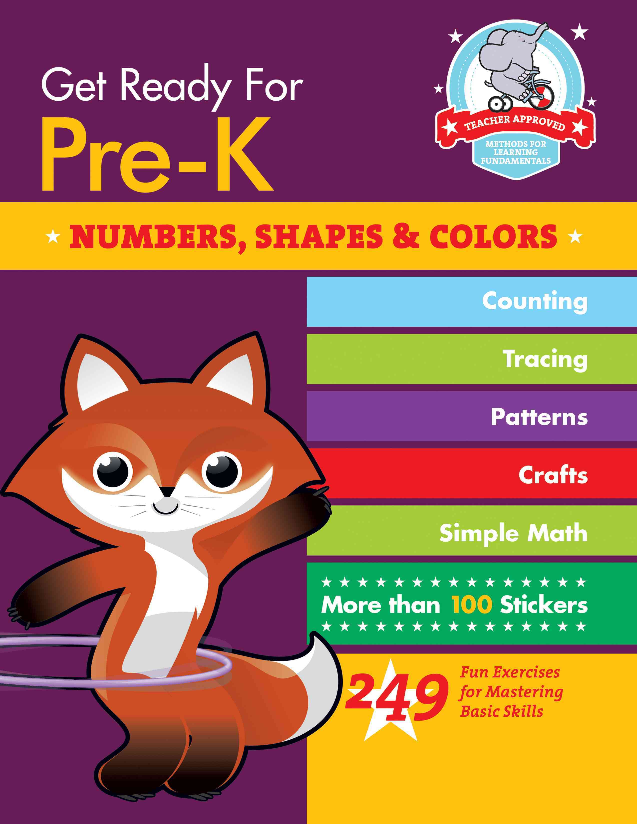 Get Ready for Pre-K: Numbers, Shapes & Colors (Paperback)