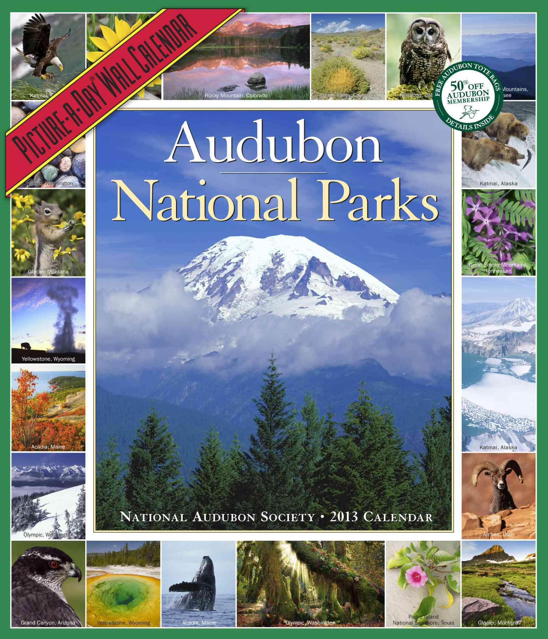 Audubon National Parks Calendar 2013
