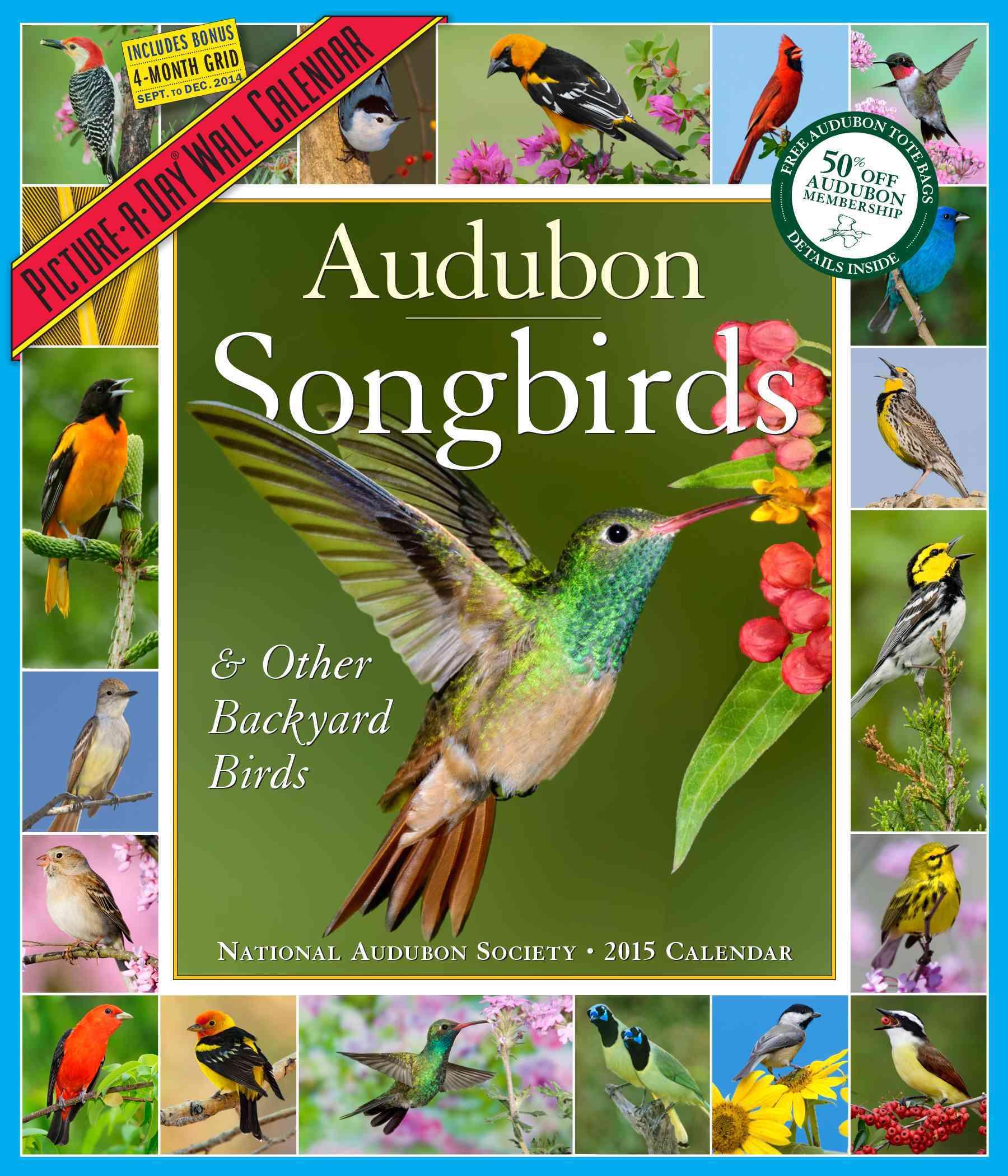 Audubon Songbirds & Other Backyard Birds Calendar 2015 (Calendar)
