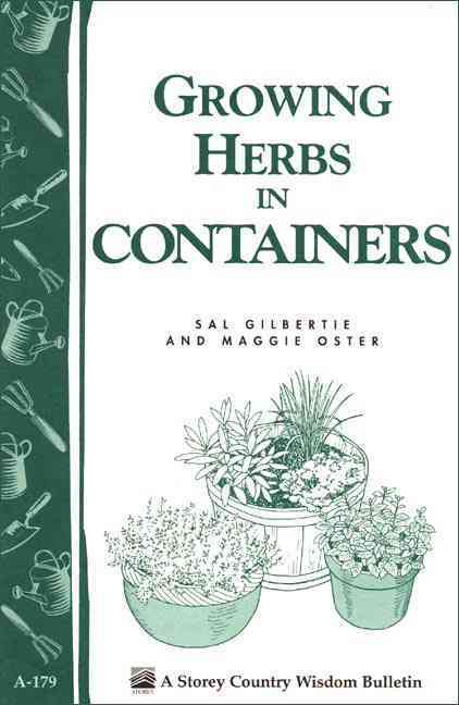 Growing Herbs in Containers (Paperback) - Thumbnail 0