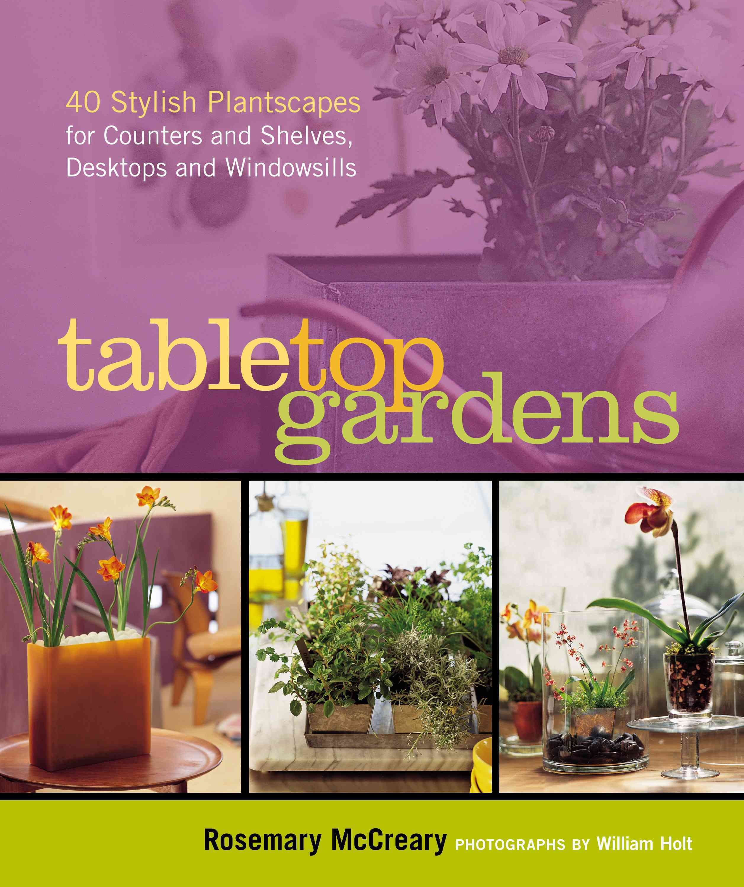 Tabletop Gardens: 40 Stylish Plantscapes For Counters And Shelves, Desktops And Windowsills (Paperback)