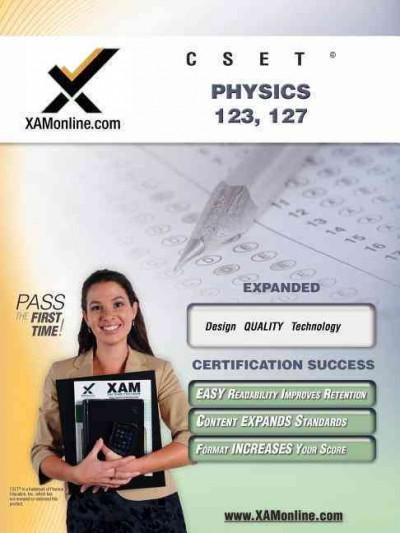 Cset Physics 123, 127 (Paperback)