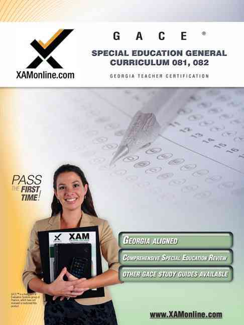 Gace Special Education General Curriculum 081, 082 (Paperback)