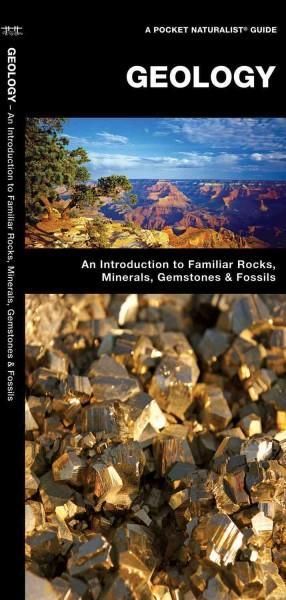 Geology: A Folding Pocket Guide to Familiar Rocks, Minerals, Gemstones & Fossils (Paperback)