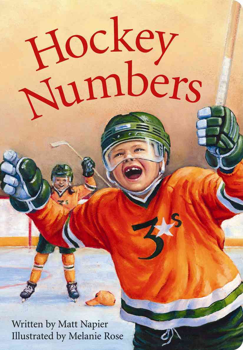 Hockey Numbers (Board book)