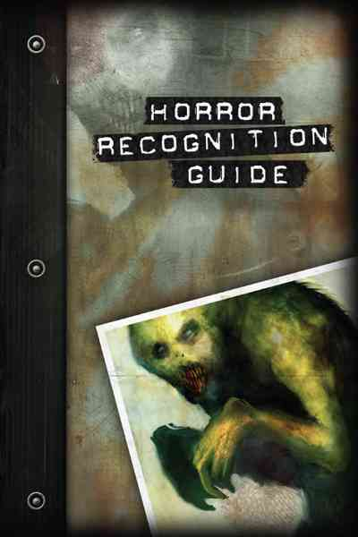 Hunter Horror Recognition Guide(Paperback / softback)