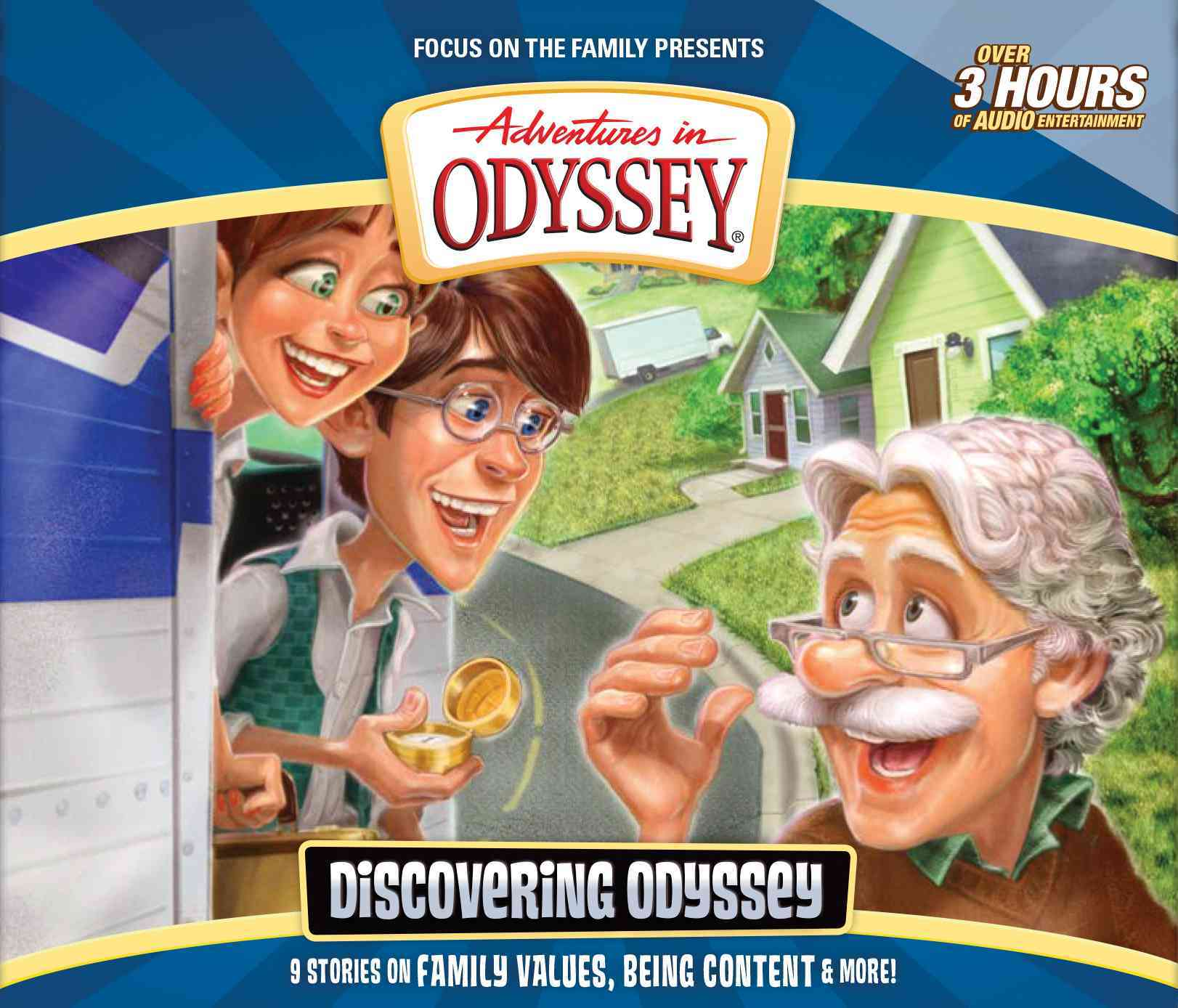 Discovering Odyssey (CD-Audio)