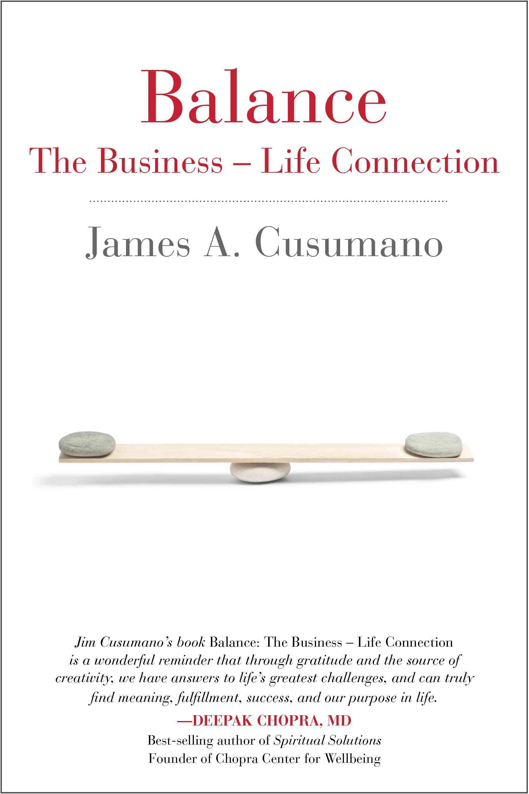 Balance: The Business - Life Connection (Paperback)