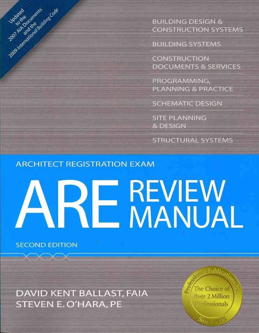 ARE Review Manual (Paperback)