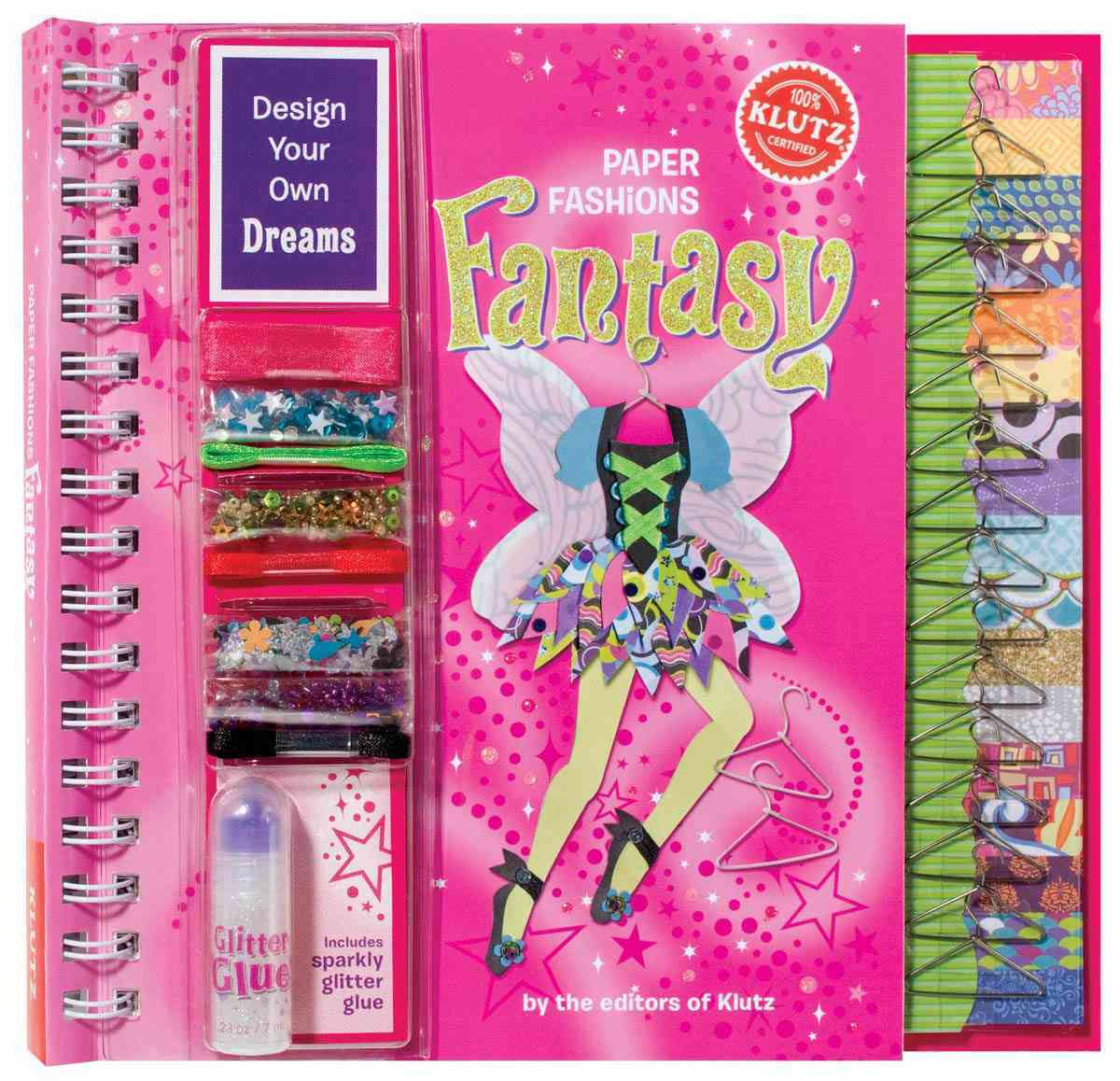 Paper Fashions Fantasy (Hardcover)
