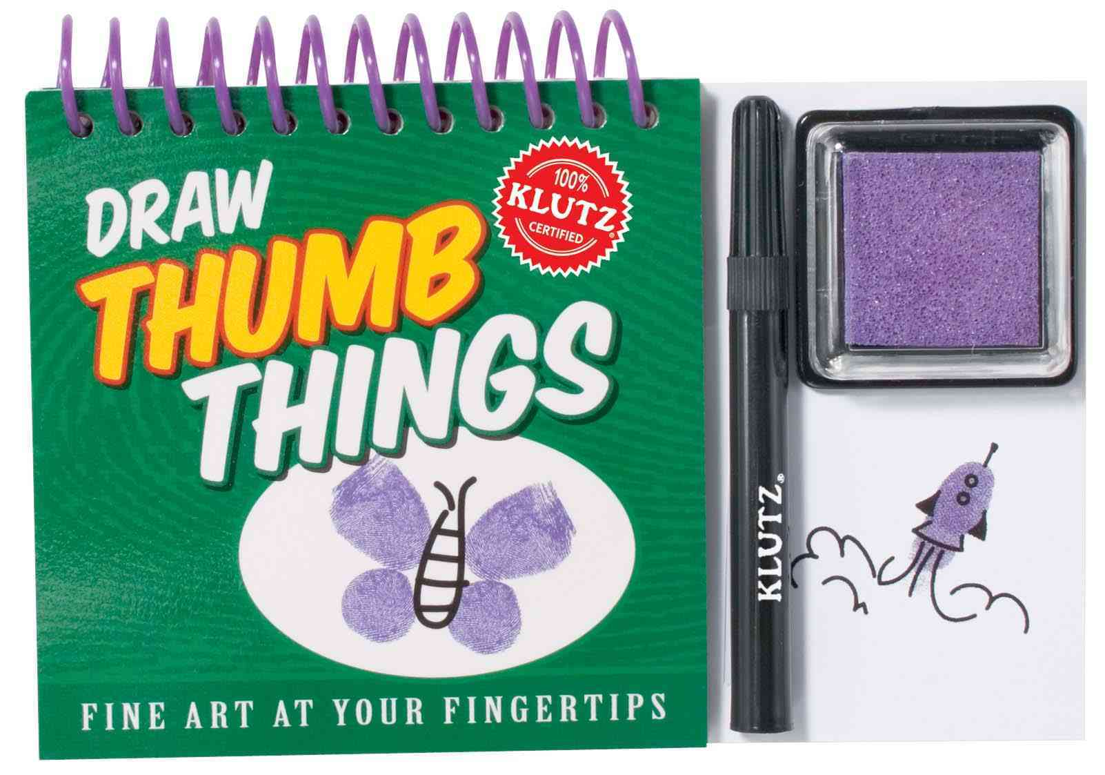Draw Thumb Things (Novelty book)