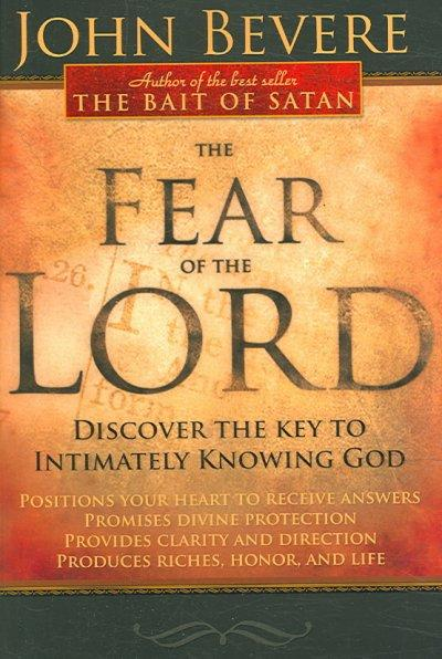 The Fear of the Lord (Paperback)