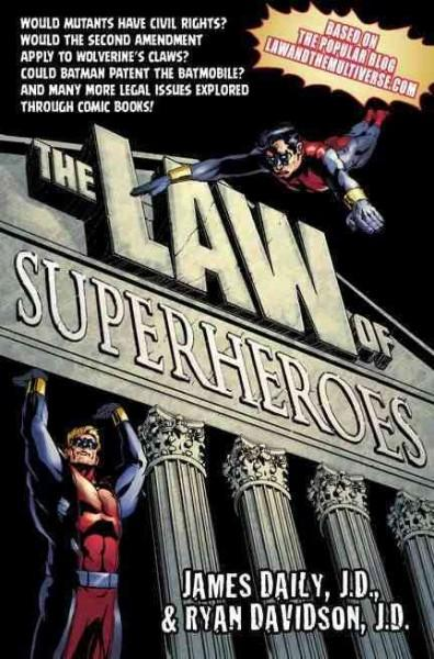 The Law of Superheroes (Hardcover)