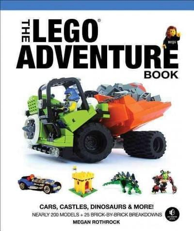 The Lego Adventure Book: Cars, Castles, Dinosaurs & More! (Hardcover)