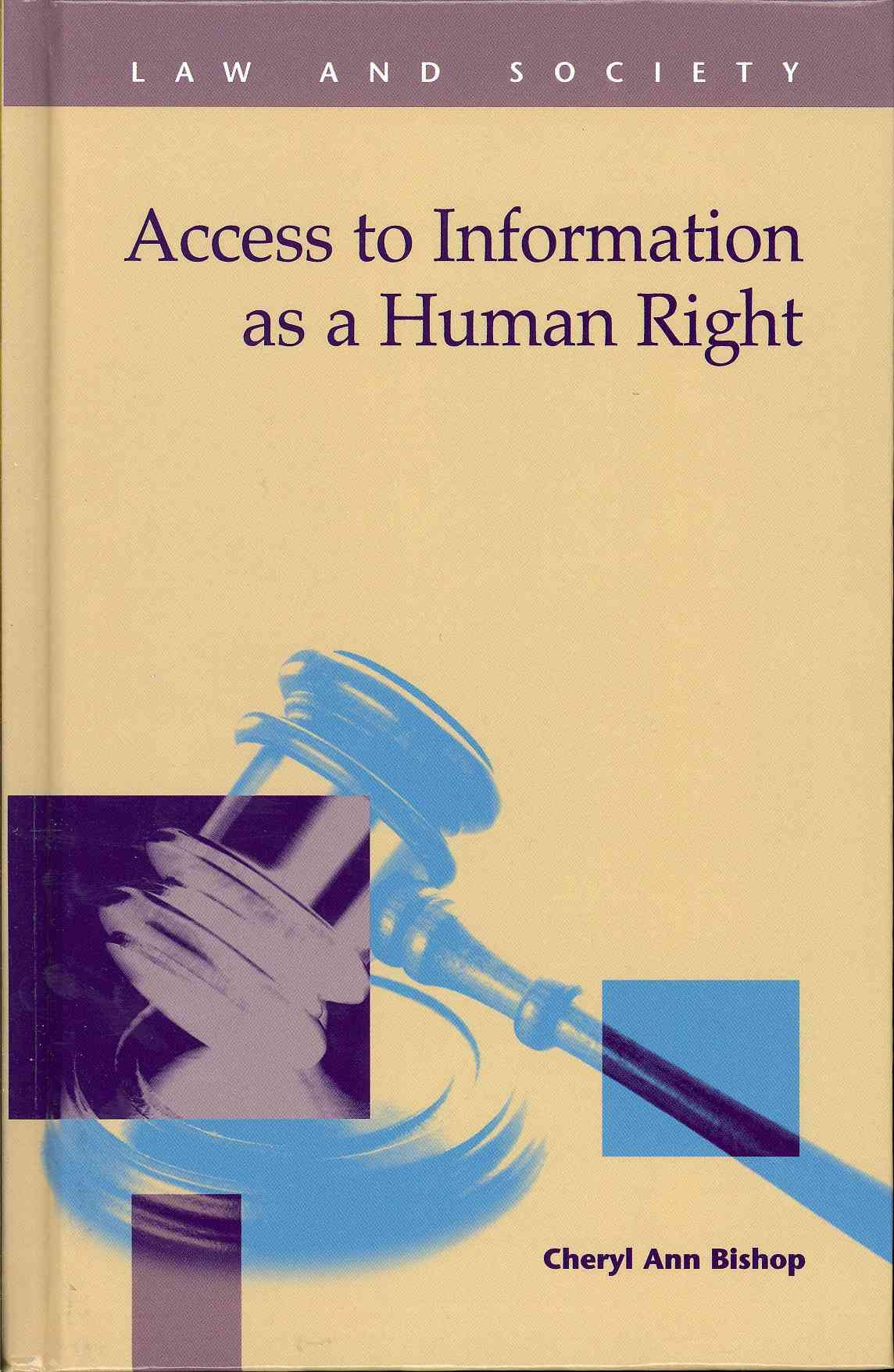 Access to Information As a Human Right (Hardcover)