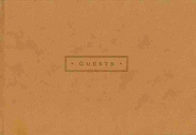 Nutmeg Guest Book (Hardcover)
