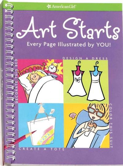 Art Starts: Every Page Illustrated by You! (Paperback)