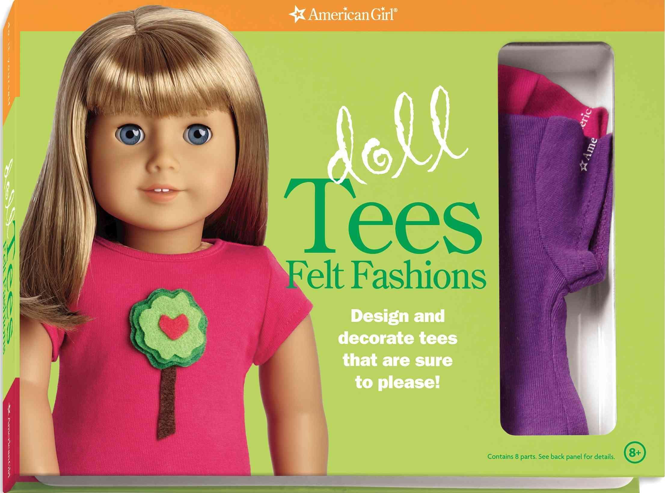 Doll Tees Felt Fashions (Paperback)