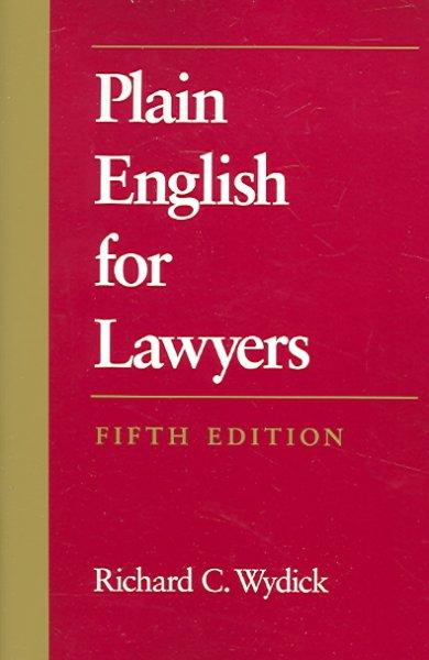 Plain English for Lawyers (Paperback)