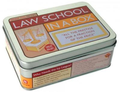 Law School in a Box: All the Prestige for a Fraction of the Price (Hardcover)
