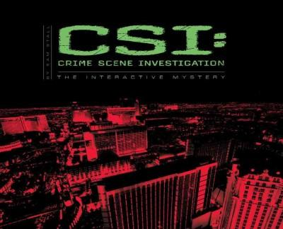 CSI: Crime Scene Investigation: An Interactive Mystery (Hardcover)