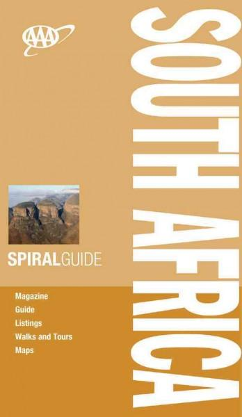 AAA Spiral Guide South Africa: Travel With Someone You Trust (Spiral bound)