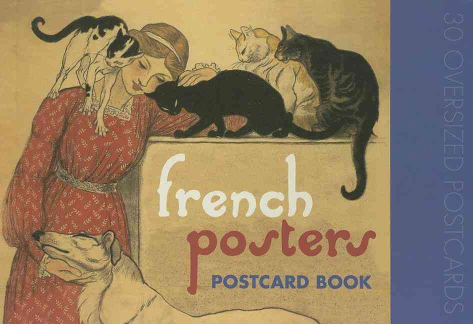 French Posters (Postcard book or pack)