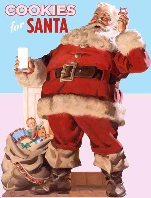 Cookies for Santa (Hardcover)