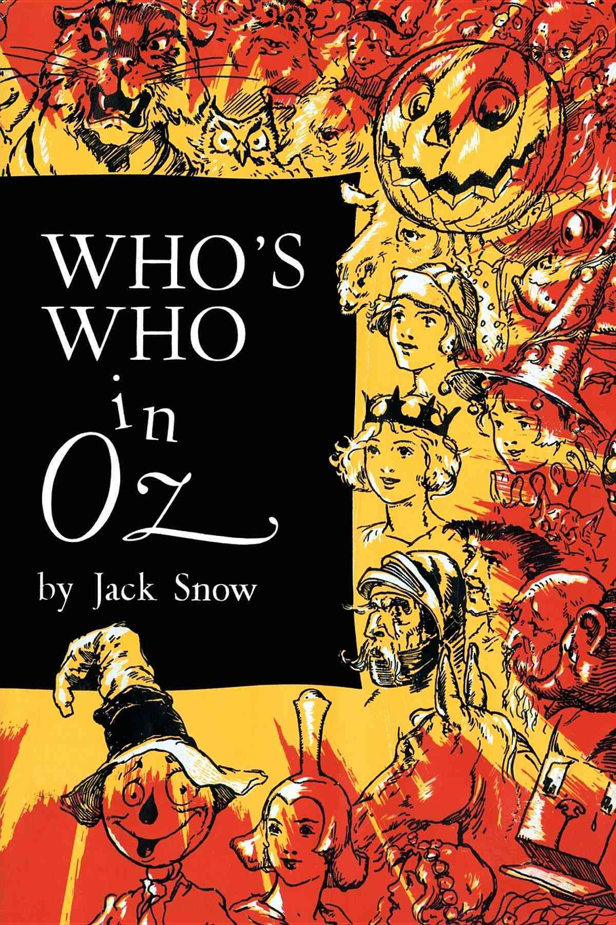 Who's Who in Oz (Paperback)