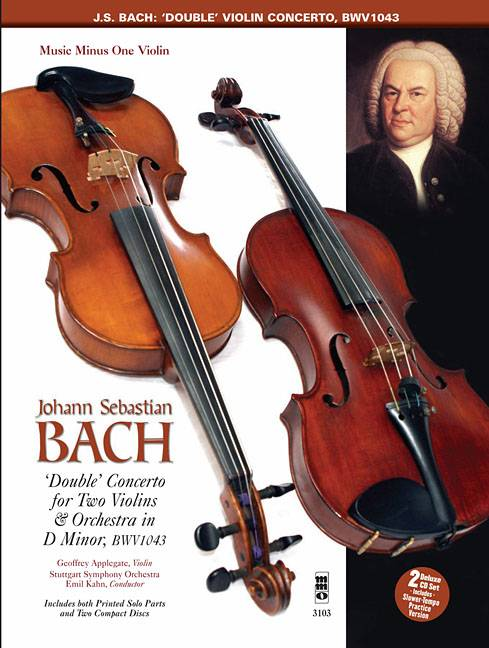 Concerto For Two Violins and Orchestra in D Minor, BWV1043