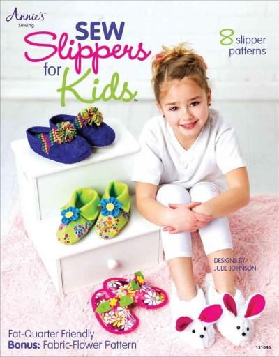 Sew Slippers for Kids (Paperback)