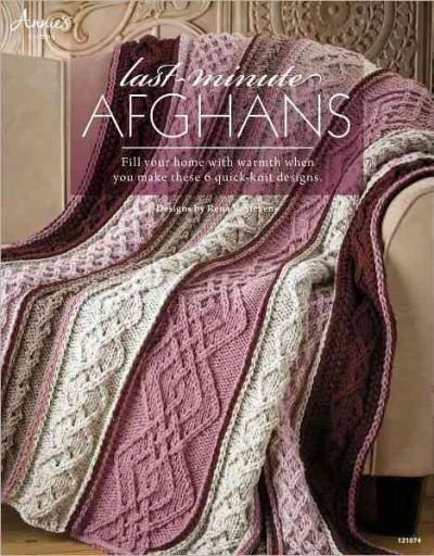 Last-Minute Afghans (Paperback)