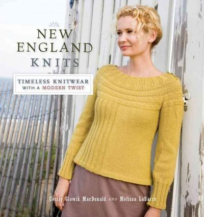 New England Knits: Timeless Knitwear With a Modern Twist (Paperback)