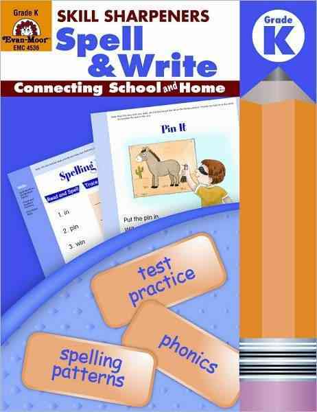 Spell & Write, Kindergarten (Paperback)