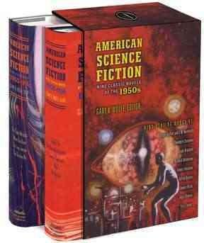 American Science Fiction: Nine Classic Novels of the 1950s (Hardcover)