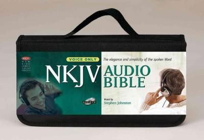 New King James Version Audio Bible, Voice Only (CD-Audio)