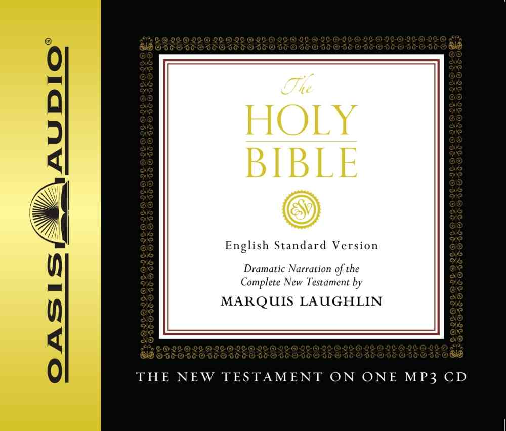 The Holy Bible English Standard Version New Testament Bible (CD-Audio)