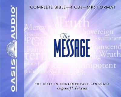 The Message: The Bible in Contemporary Language (CD-Audio)